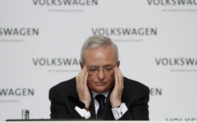 Martin Winterkorn, ex presidente de Volkswagen