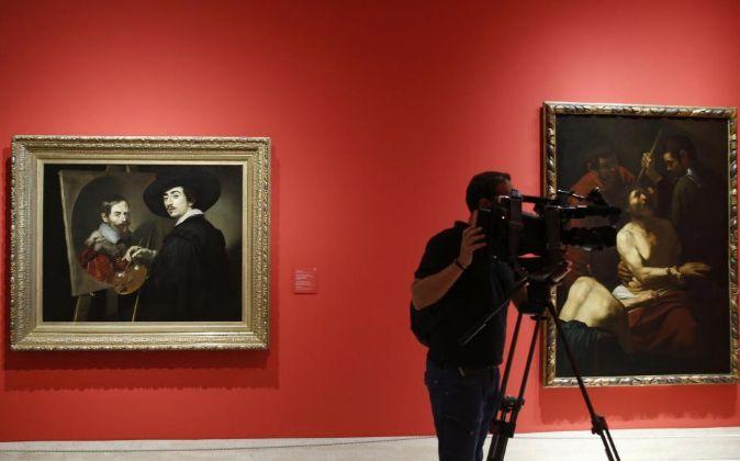 """La exposición """"Caravaggio y los pintores del norte"""", una..."""