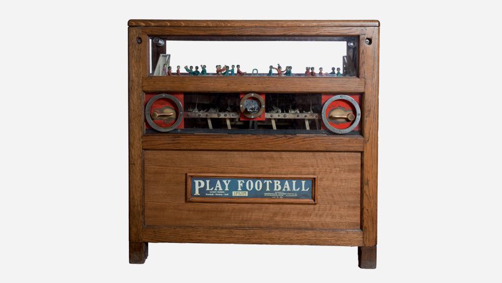 Futbolín de Nueva York ,1910. Precio de salida: 6.000 euros.