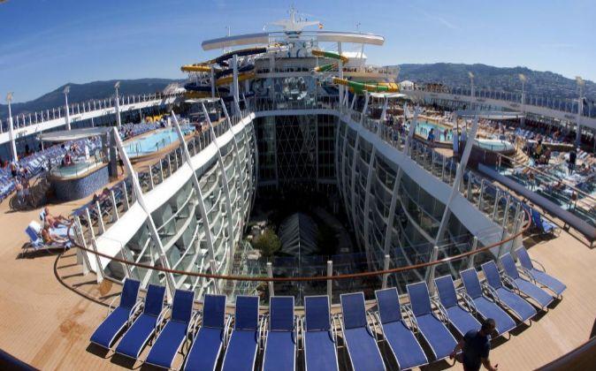 Interior del 'Harmony of the Seas', el buque de cruceros...