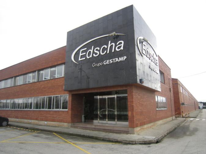Fábrica de Edscha del grupo Gestamp en Burgos.