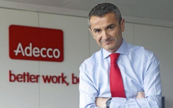 Enrique Sánchez, presidente de Adecco Iberia y responsable del grupo...