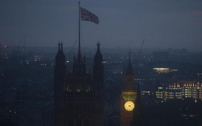Londres, esta madrugada.