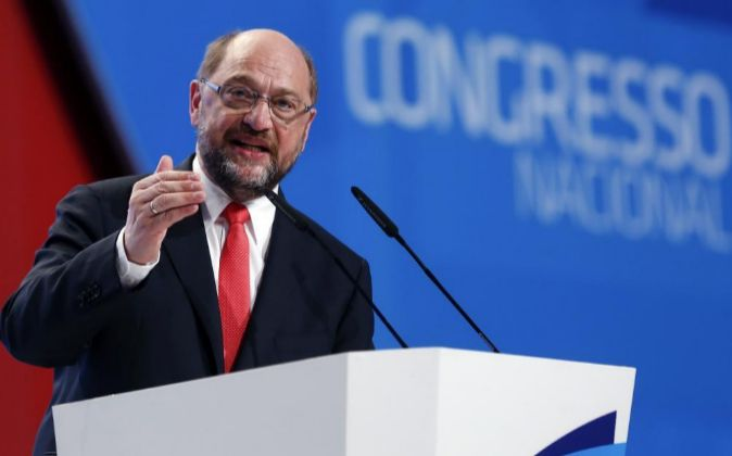 El presidente de Parlamento Europeo, Martin Schulz.