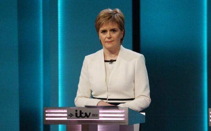 La primera ministra de Escocia, Nicola Sturgeon.