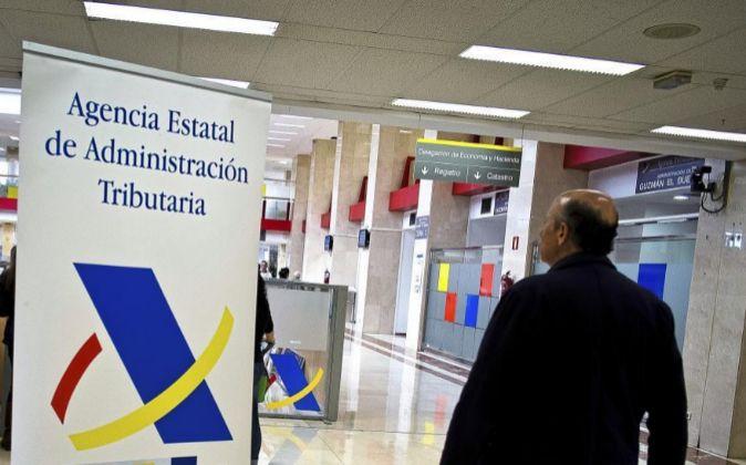Delegación de la Agencia Tributaria en Guzmán el Bueno, en Madrid.