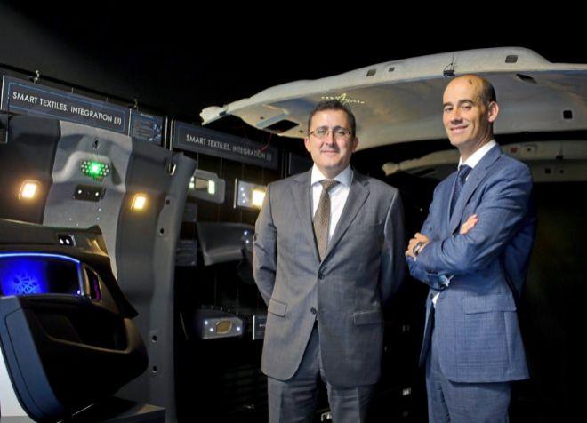 Javier Villacampa, director de Innovación, y Juan Carlos González,...