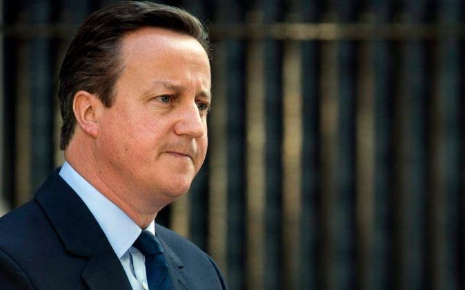 El primer ministro, David Cameron, anuncia su intención de dimitir en...
