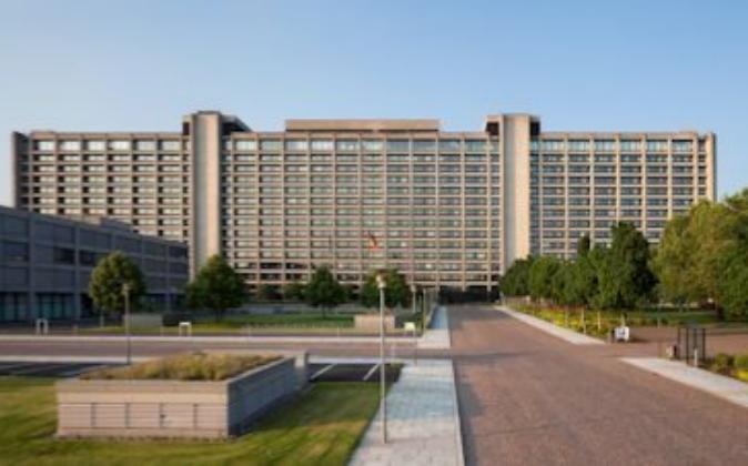 Fachada del Bundesbank, el banco central de Alemania.