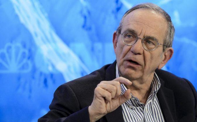 El ministro de Finanzas italiano Pier Carlo Padoan.