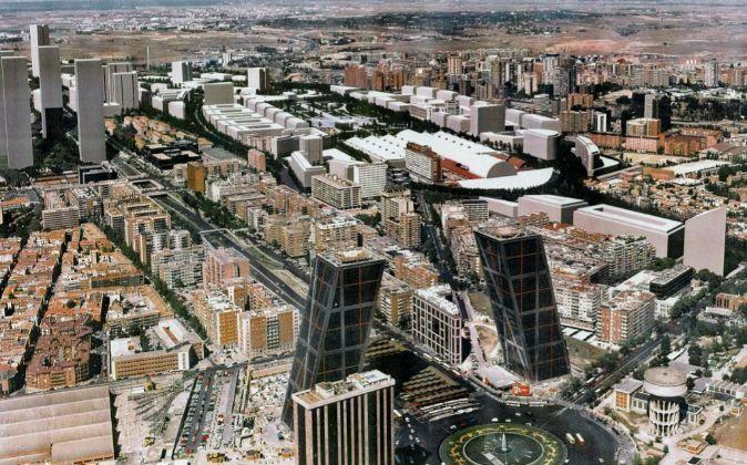 Recreación virtual de la zona donde se prevé desarrollar la...