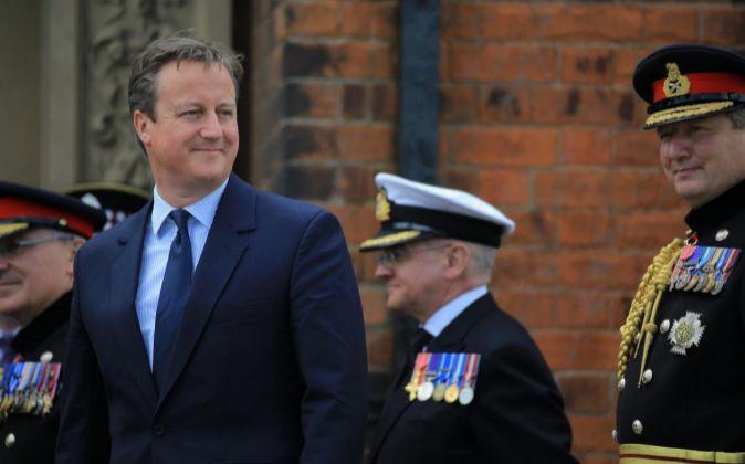 Primer Ministro de Reino Unido, David Cameron.
