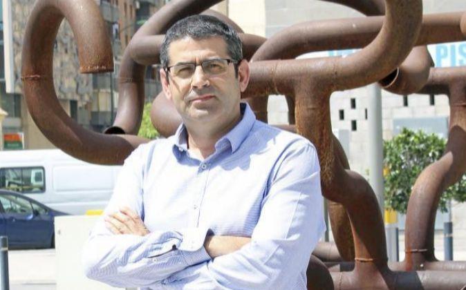 Mario Domene, director financiero de Cash Converters, en Málaga.