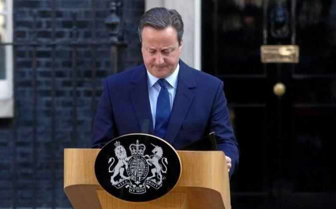 El primer ministro de Reino Unido, David Cameron.