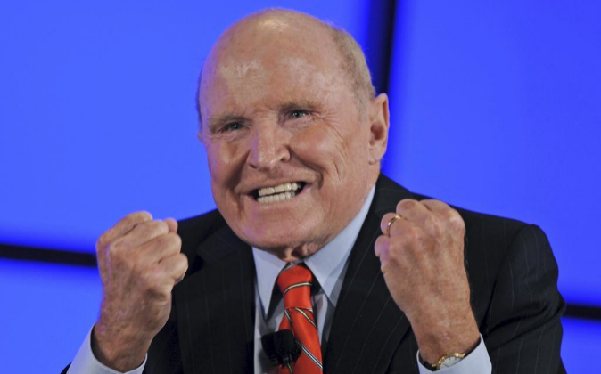 Jack Welch, jefe agresivo y gurú del 'management'.