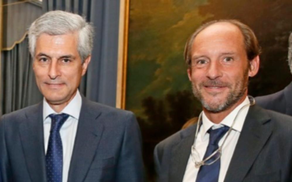 De izqda. a dcha., Adolfo Suárez Illana, presidente de Ontier...