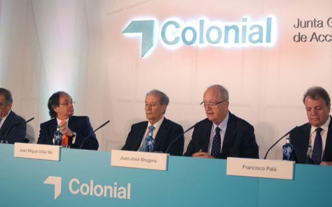 Junta de accionistas de Colonial
