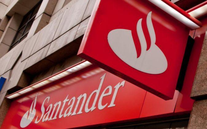 Logo del Santander.