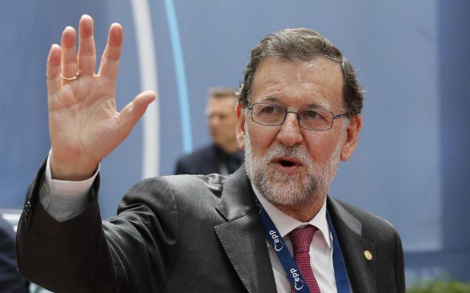 El presidente español en funciones Mariano Rajoy.