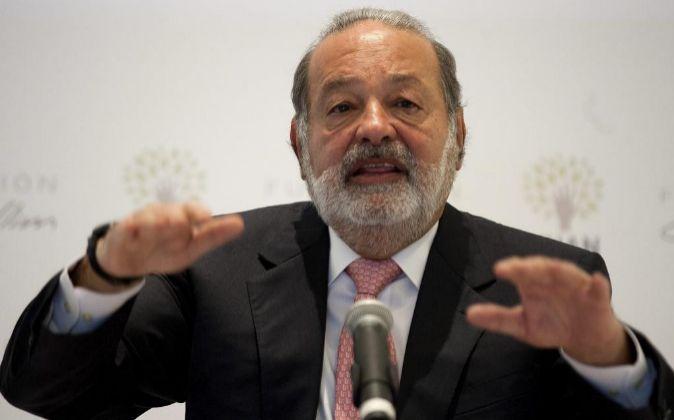 El multimillonario mexicano, Carlos Slim