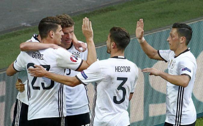 Selección alemana de fútbol.