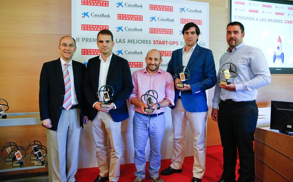 De izquierda a derecha, Miguel Ors, director adjunto de Actualidad...
