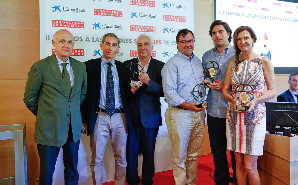 Jesús Zaballa, director general comercial de Unidad Editorial; Javier...