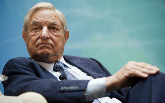 El inversor George Soros.