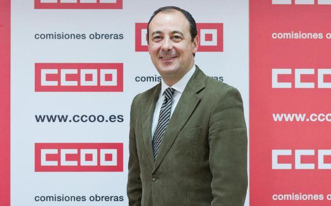 Carlos Bravo, responsable pensiones de CCOO.