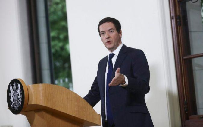 El ministro británico de Economía, George Osborne