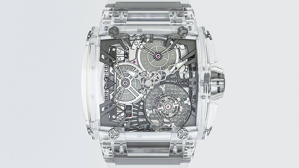 El último hito de la relojería  relojes transparentes que lo enseñan ... bb04914bb446