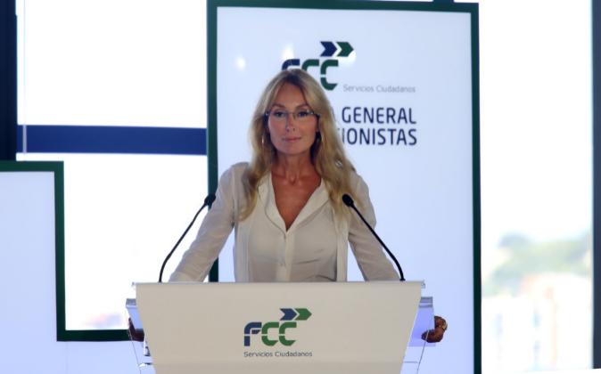 Esther Alcocer Koplowitz, presidenta de FCC.