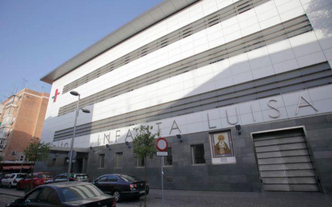 El hospital Infanta Luisa en Sevilla.