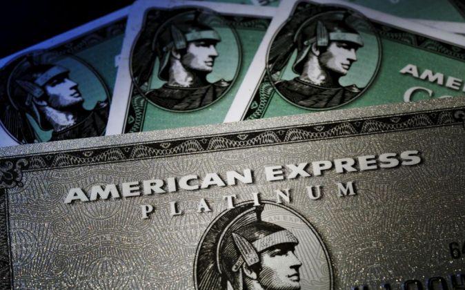 Tarjetas de crédito de American Express.