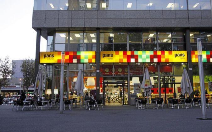 Establecimiento de Pans & Company en Barcelona