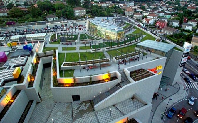 El centro comercial Gran Vía Vigo.