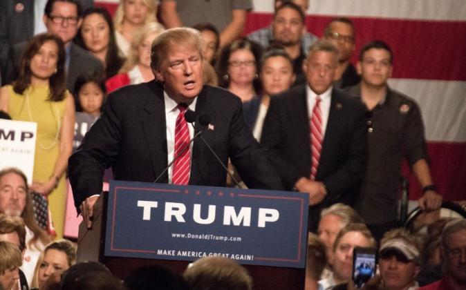 Donald Trump, candidato del Partido Republicano