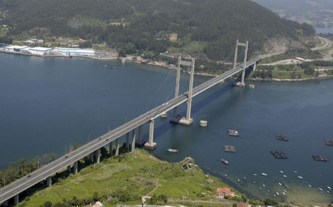 Puente de Rande (Vigo), controlado por Itínere.