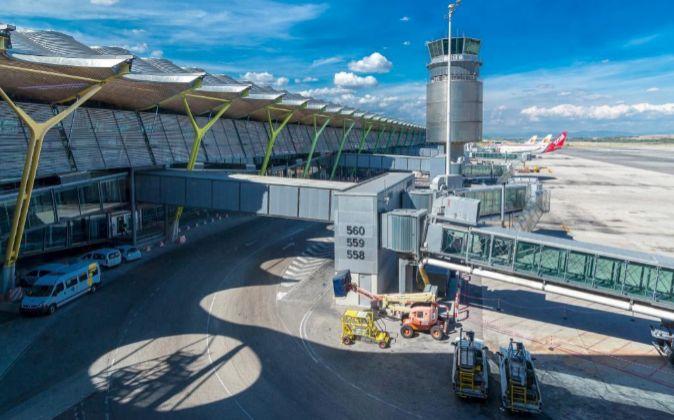Vista de la T4 del aeropuerto Adolfo Suárez Madrid - Barajas.
