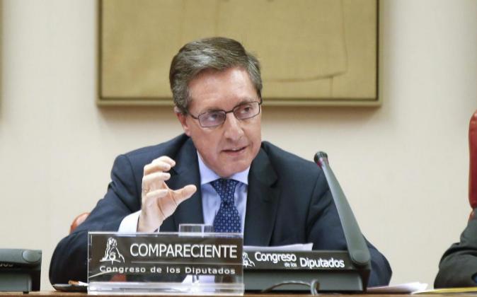 El director de la Agencia Tributaria Santiago Menéndez.