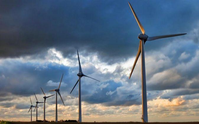 Aerogeneradores eólicos instalados en España.
