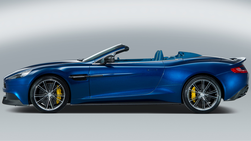 <strong>Aston Martin Vanquish Volante</strong>. Motor. V12, 5,9...
