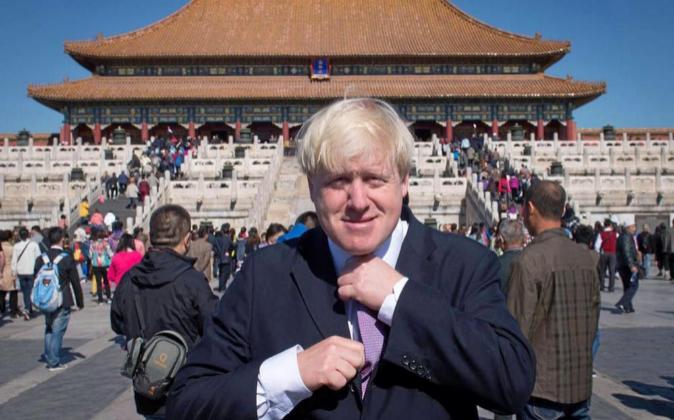 Boris Johnson en China