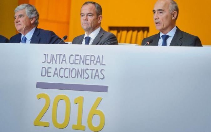 Junta de accionistas de Ferrovial 2016.