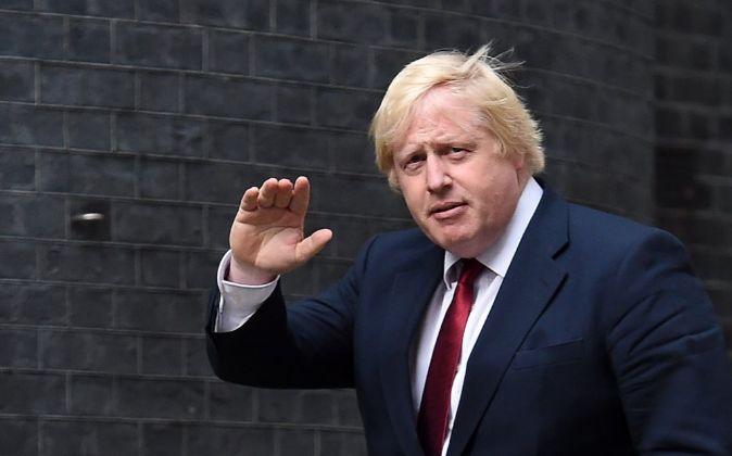 Boris Johnson, nuevo ministro de Exteriores británico