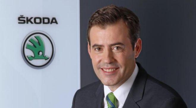 José Miguel Aparicio, director de Skoda en España.