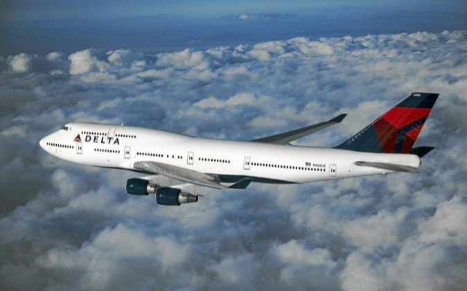 Aeronave de la compañía Delta.