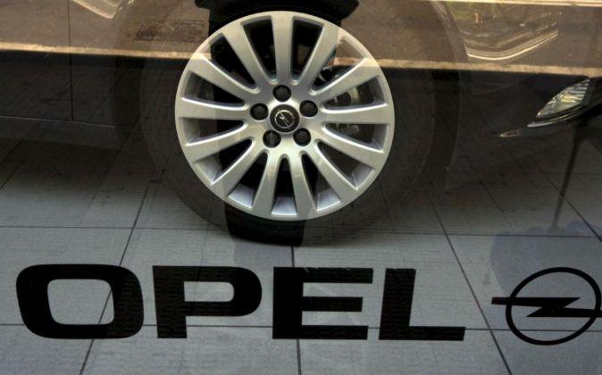 Un concesionario Opel en Zaragoza