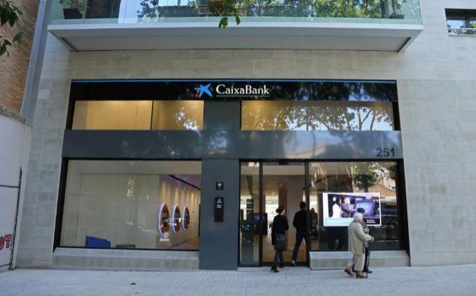 Oficina CaixaBank Store.
