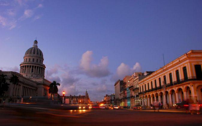 Edificio del Capitolio en La Habana, capital de Cuba.